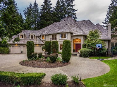 Woodinville Single Family Home For Sale: 14045 221st Ave NE