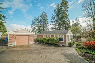 Gig Harbor Single Family Home For Sale: 5995 Soundview Dr