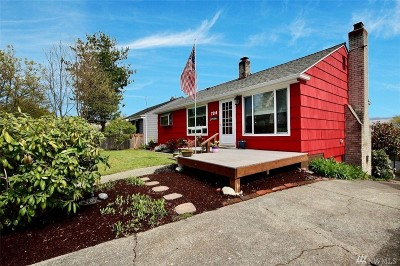 Single Family Home For Sale: 7314 28th Ave SW