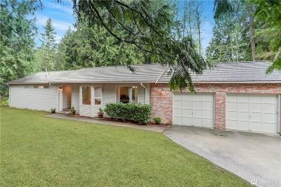 Single Family Home For Sale: 3531 Sahalee Dr W