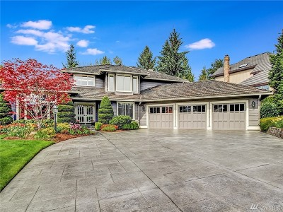 Bellevue WA Single Family Home For Sale: $1,299,980