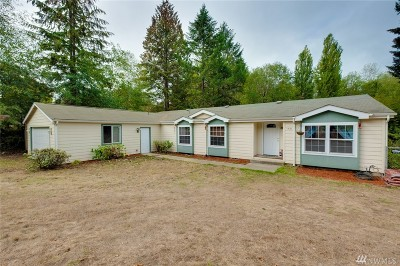 Mason County Single Family Home Pending Inspection: 1431 E Alderwood Rd