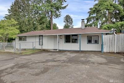 Single Family Home Sold: 11806 SE 318th Place