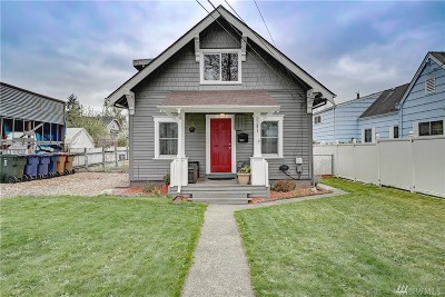 Single Family Home For Sale: 5241 S J St