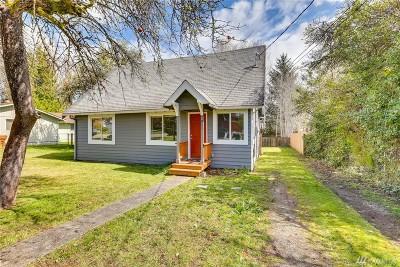 Tacoma Single Family Home For Sale: 7841 S Cushman Ave