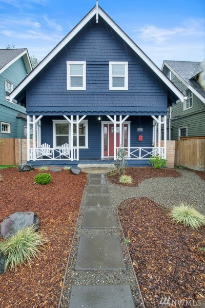Tacoma Single Family Home For Sale: 1208 N Steele St