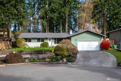Lynnwood Single Family Home For Sale: 2211 208th St SW