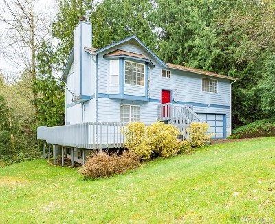 Poulsbo Single Family Home For Sale: 26300 Edgewater Place NW