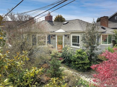 Seattle Single Family Home For Sale: 3701 SW Prescott Place