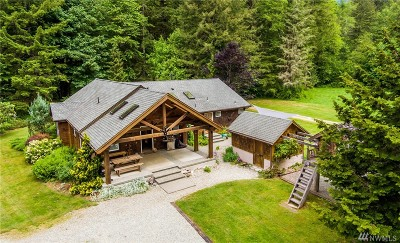 Skagit County Single Family Home Pending Inspection: 48404 Yeager Rd