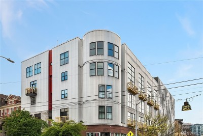 Condo/Townhouse For Sale: 615 E Pike St #402