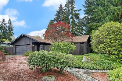 Mercer Island WA Single Family Home For Sale: $1,050,000