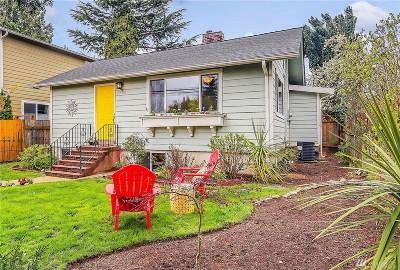 Seattle Single Family Home For Sale: 7709 12th Ave SW