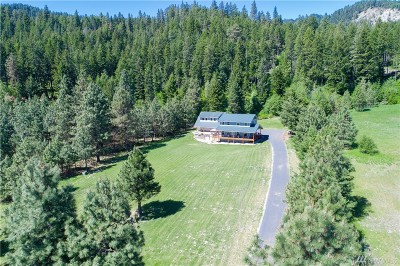 Chelan County Single Family Home For Sale: 17558 River Rd