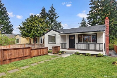 Seattle Single Family Home For Sale: 848 NE 96th St