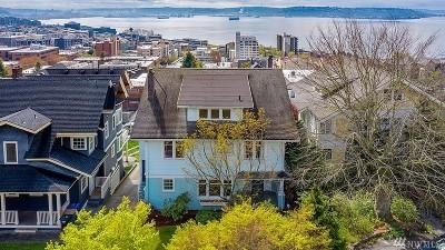 Seattle Single Family Home For Sale: 343 W Kinnear Place
