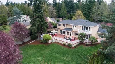 Hunts Point Single Family Home For Sale: 8550 NE 28th St