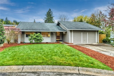 Renton Single Family Home For Sale: 13525 SE 162nd St