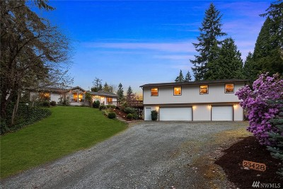 Woodinville Single Family Home For Sale: 23428 57th Ave SE