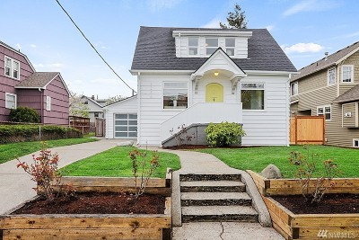 Seattle Single Family Home For Sale: 3236 42nd Ave SW