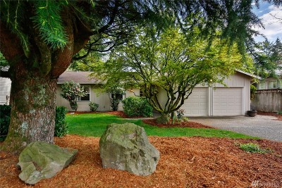 Kirkland Single Family Home For Sale: 9239 NE 135th St
