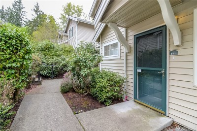 Renton Condo/Townhouse For Sale: 2300 Jefferson Ave NE #B105