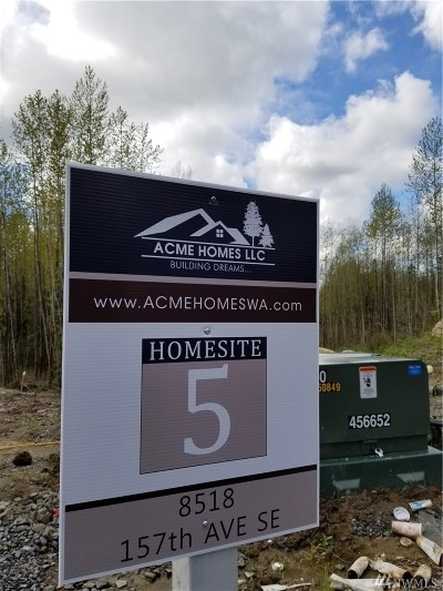 Snohomish Residential Lots & Land For Sale: 8518 157th Ave SE