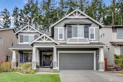 Poulsbo Single Family Home Pending Inspection: 1888 Claret Lp NW