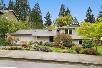 Bellevue Single Family Home For Sale: 10413 SE 25th St