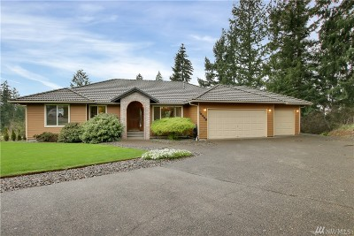 Lake Tapps WA Single Family Home For Sale: $549,950