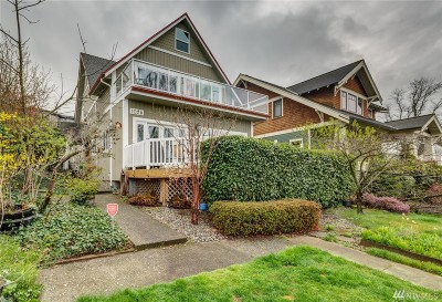 Bellingham Single Family Home For Sale: 1025 16th St