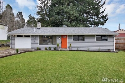 Burien Single Family Home For Sale: 12914 2nd Ave SW