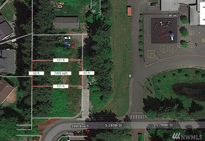 Auburn Residential Lots & Land For Sale: 280th St S