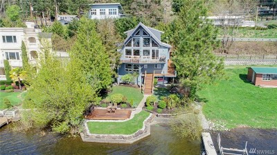 King County Single Family Home For Sale: 3861 E Lake Sammamish Pkwy NE