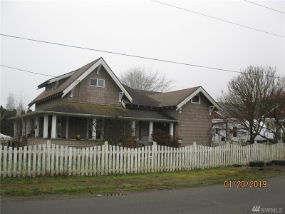Grays Harbor County Single Family Home For Sale: 302 W Pine St