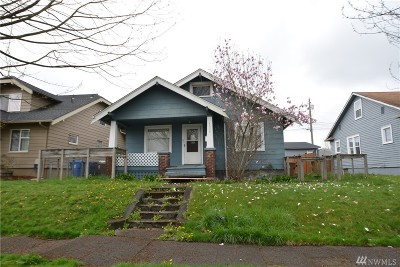 Tacoma Single Family Home For Sale: 4530 S G St