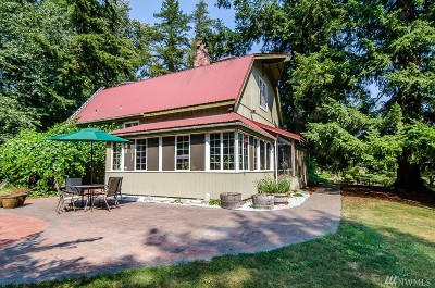 Whatcom County Single Family Home Pending Inspection: 9549 Sunrise Rd