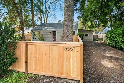 Shoreline Single Family Home Contingent: 15567 12th Ave NE