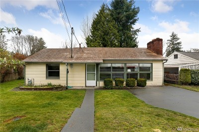 Mountlake Terrace Single Family Home For Sale: 23407 Hedlund Ave