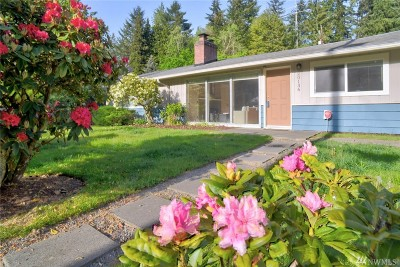 Shoreline Single Family Home Contingent: 20136 6th Place NE
