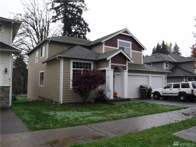 Tumwater Single Family Home Pending: 615 H St SW