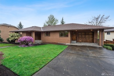 Renton Single Family Home For Sale: 1615 Lake Ave S