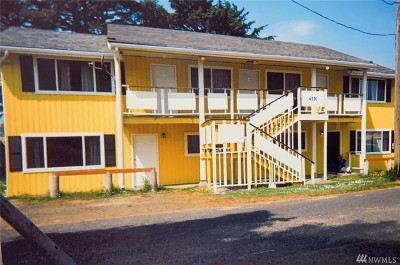 Grays Harbor County Multi Family Home Pending: 4789 Forwood Ave