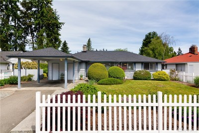 Shoreline Single Family Home For Sale: 1902 N 198th St