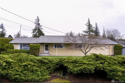 Bellingham Single Family Home Pending Inspection: 2428 View Ridge Dr