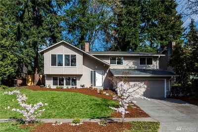 Bellevue Single Family Home For Sale: 6516 121st Ave SE