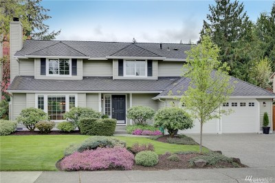 Sammamish Single Family Home For Sale: 23447 NE 28th Place