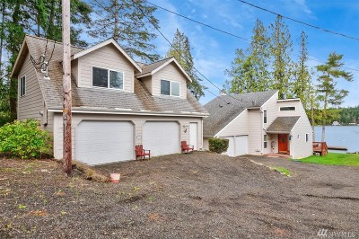 Grapeview Single Family Home For Sale: 1371 E Mason Lake Dr E