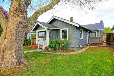 Tacoma Single Family Home For Sale: 4035 A St