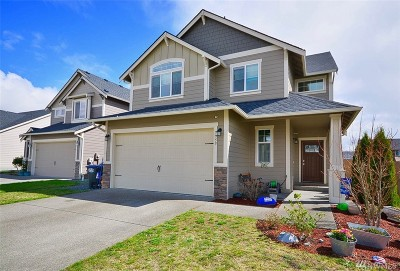 Yelm Single Family Home Contingent: 9955 Dotson St SE